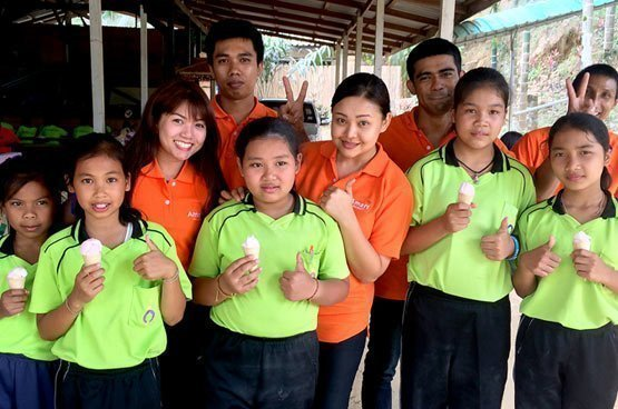 Amari makes dreams come true at Baan Huay Muang Border School
