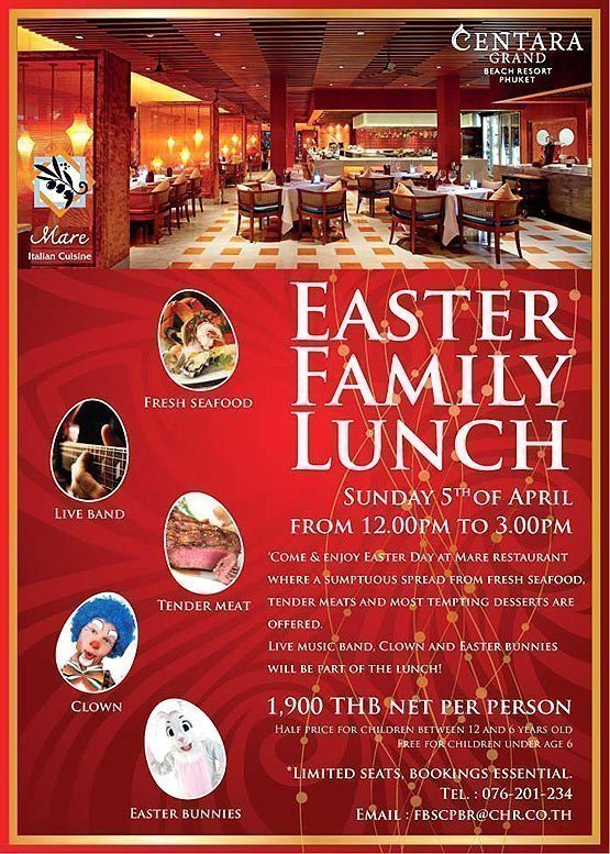 Easter Family Lunch