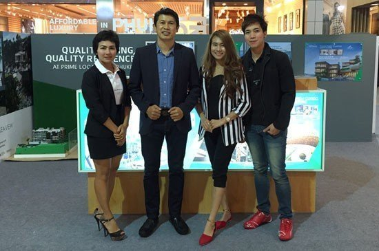 Emerald Development at Bangkok Post Luxury Living 2015 at Central World Department Store