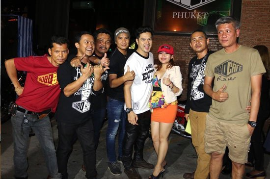 8080 café'phuket 80 Men Concert