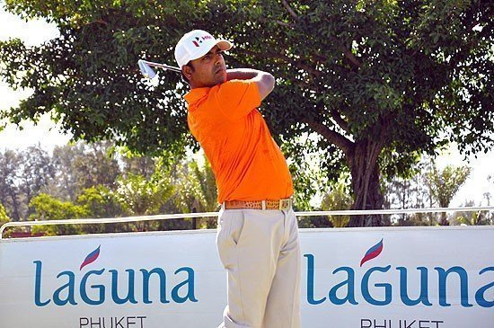 Asian Tour Order of Merit Leader Anirban Lahiri Swings by Laguna Phuket Golf Club