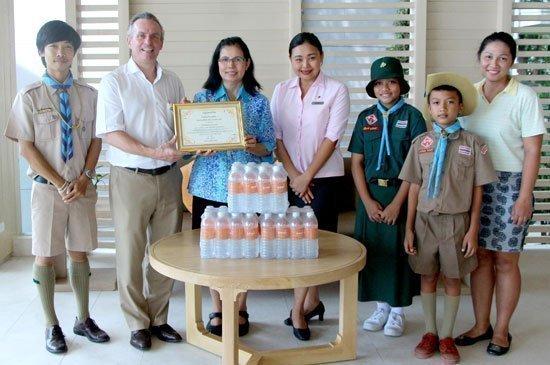 Amari Phuket sponsors a football competition for Baan Kalim School