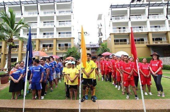 """Kata Sea Breeze Resort has organized """" KSB Sport Day 2015 """""""