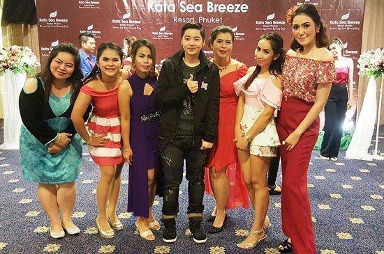 Kata Sea Breeze Resort  Celebrate Annual Staff Party