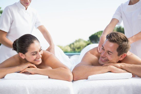 His & her spa package at So Spa with L'Occitane
