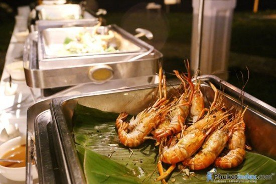 01B.B.Q Seafood Buffet at Thavorn Beach Village