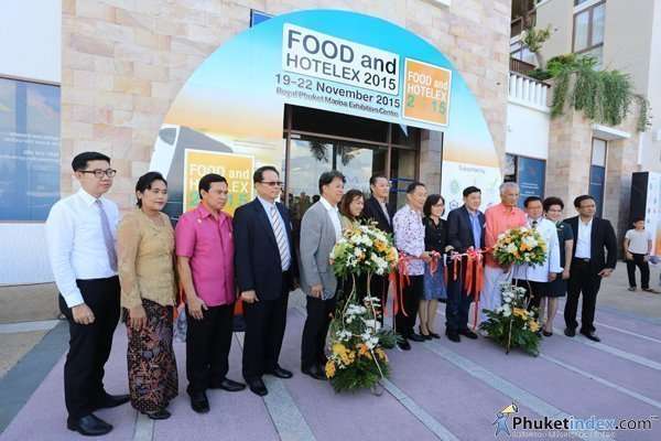 Inaugural Food and Hotelex 2015 opens in Phuket