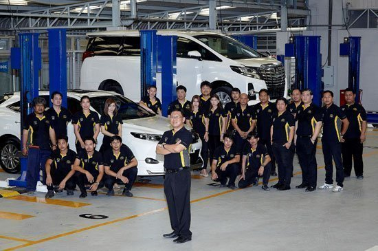 TSL prioritized after-sales Service welcoming all luxury vehicle