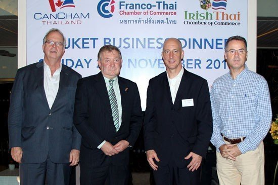 Amari Phuket welcomes the ambassadors for the Phuket business dinner