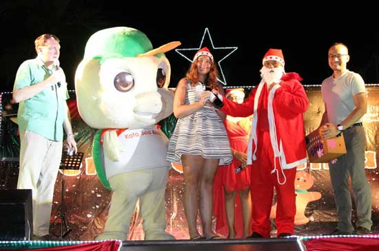 Kata Sea Breeze Christmas Eve Party 2015