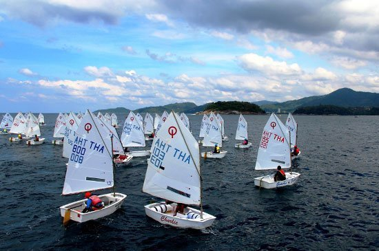 Phuket King's Cup Regatta International Dinghy Class young sailors