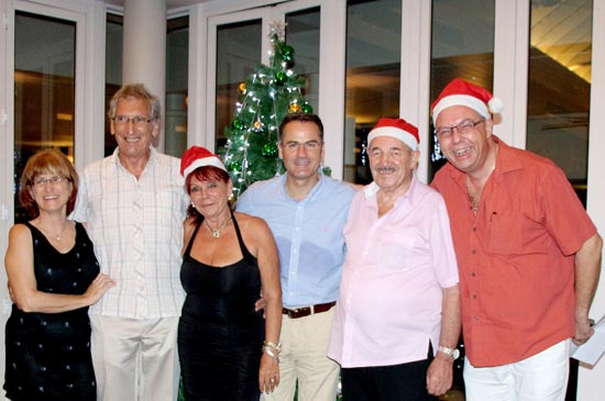 The Annual Swiss Society Christmas Dinner was held at Amari Phuket