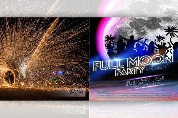 XANA Beach Club Full Moon Party Volume 3