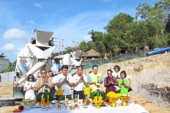 01A Ground Breaking Ceremony at Ao Nang Krabi