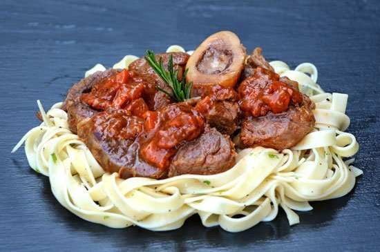 La Gritta presents Ossobuco, a world-famous veal shank for the meat lovers