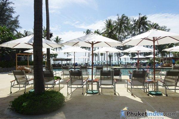 Family trip at Outrigger Laguna Phuket Beach Resort