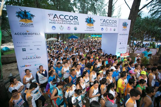 "2nd Accor Hotels ""Heartbreak"" Hill Mini-Marathon 2016"