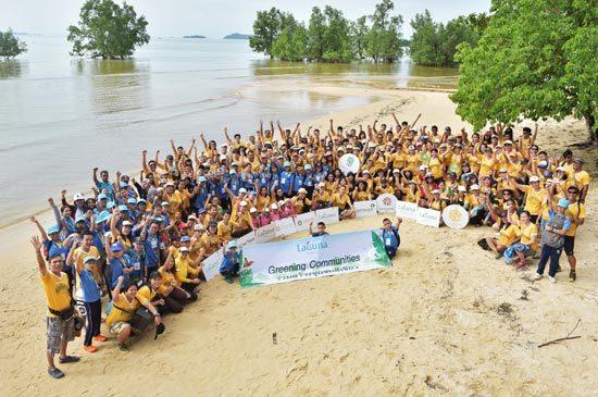 Laguna Phuket Celebrated 10th Anniversary of Greening Community