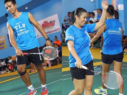 Outrigger Charity Badminton Tournament 2016