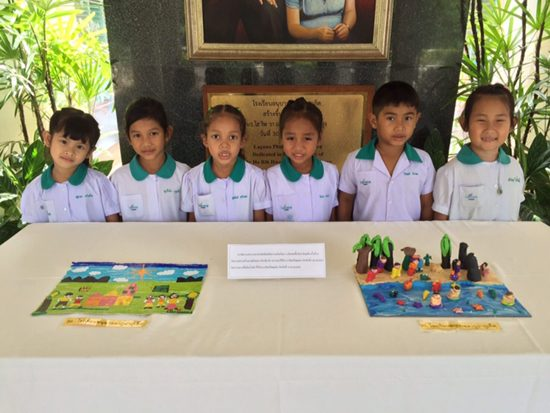 Students from Laguna Phuket Kindergarten Exceled at 2016 Artistic Dexterity