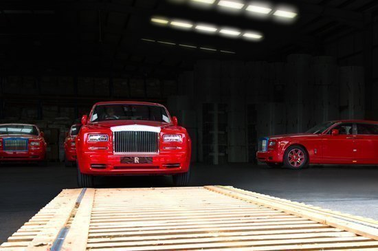 Shipment of Thirty Bespoke Rolls-Royce Phantoms to 'THE 13' Hotel in Macau now complete