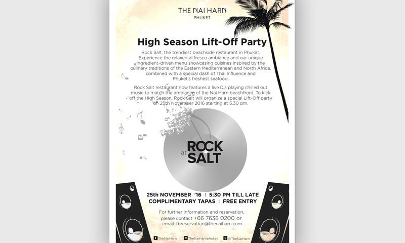 High Season Lift-Off Party