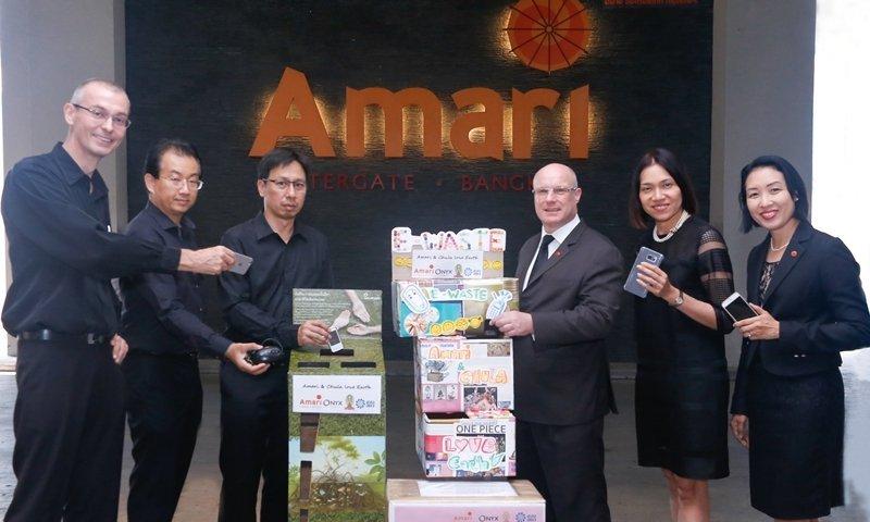 Amari and Chulalongkorn University raise awareness on e-waste disposal