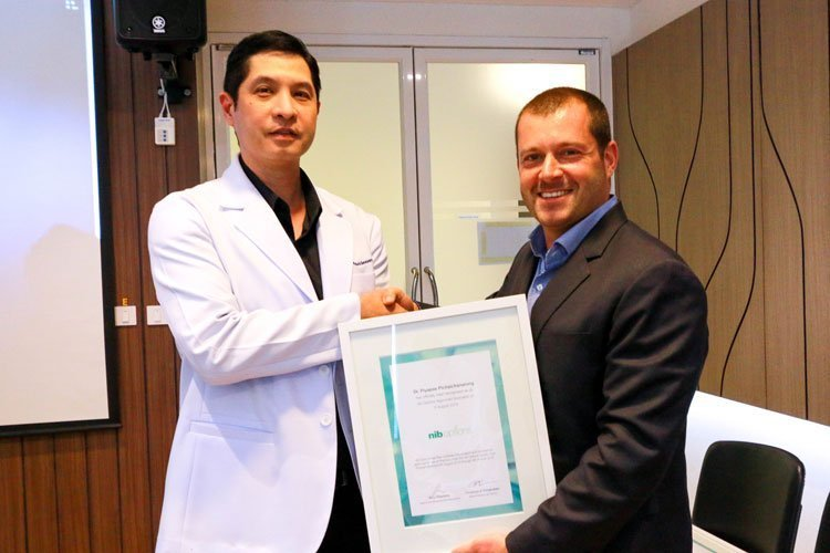 nib Options awards the Phuket Plastic Surgery Institute (PPSI) a JCI-benchmarked certification of medical standards