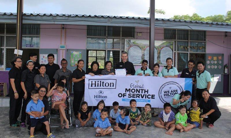 Hilton Phuket Arcadia Resort & Spa celebrates global month of service