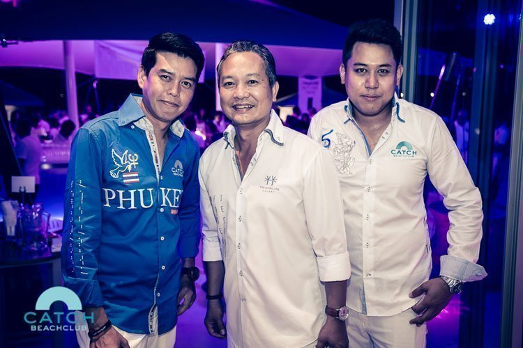Catch Beach Club Re-opening party