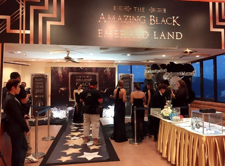"""The Amazing Black in Emerald Land"" , 2016 Staff Party & New Year celebration"