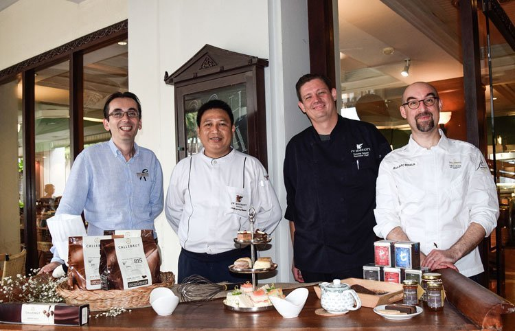 JW Marriott Phuket Resort & Spa hosted the delightful week of High Tea and Callebaut chocolate cooking demonstration showcased by Head of the Chocolate Academy, Jean Marc Bernelin