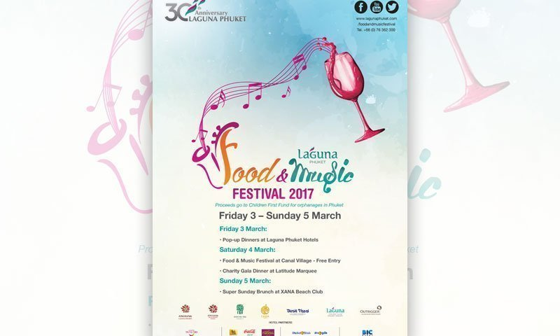 Laguna Phuket Announces the Inaugural Food & Music Festival  In Celebration of its 30th Anniversary