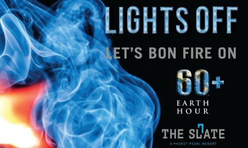 Earth Hour: Lights Off and let's bon fire on!
