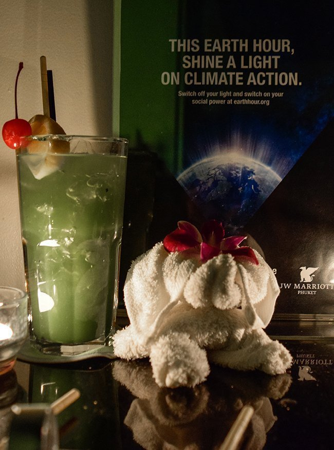 JW Marriott Phuket Resort & Spa Goes Dark To Shine A Light on Climate Action -Hotel supports worldwide Earth Hour Movement for the Environment-