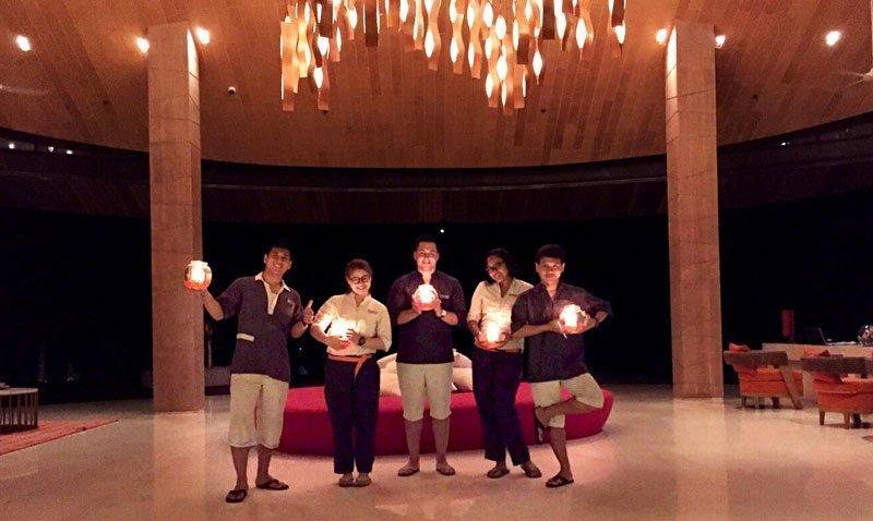 Renaissance Phuket Resort & Spa goes dark to shine a light on climate action