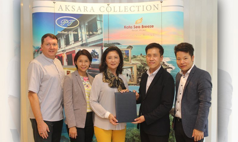 'The SIS Kata' signed contracts with Siam Wellness Public Company Limited