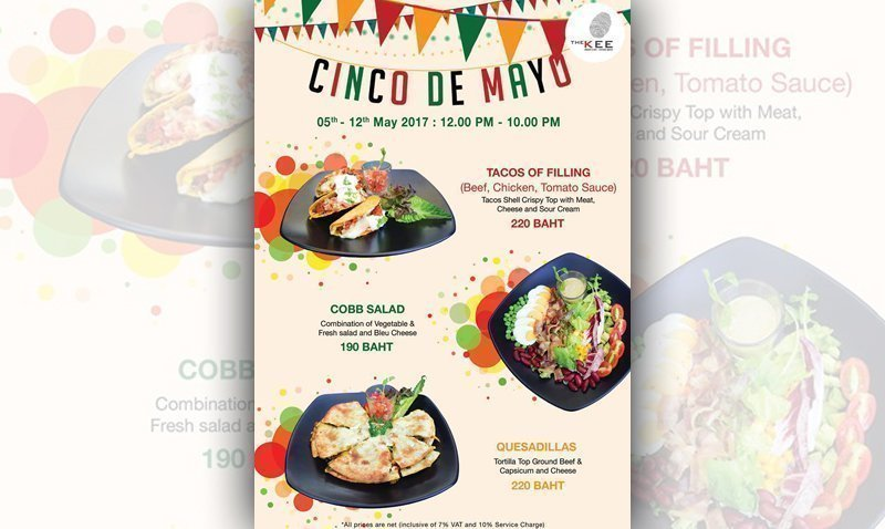 Cinco De Mayo – The KEE Resort & Spa, Patong Beach