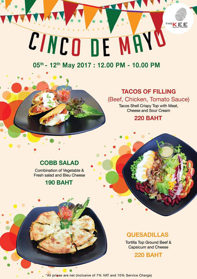 Cinco De Mayo - The KEE Resort & Spa, Patong Beach