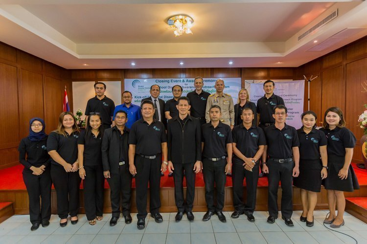CLOSING EVENT AND AWARD CEREMONY OF 'SCHOOL DISASTER AWARENESS OUTREACH PROGRAM' AND KICK-OFF FOR THE 'DIGITAL DISASTER RESPONSE ASSET TRACKING PROGRAM' IN PHUKET ON JUNE 21st 2017
