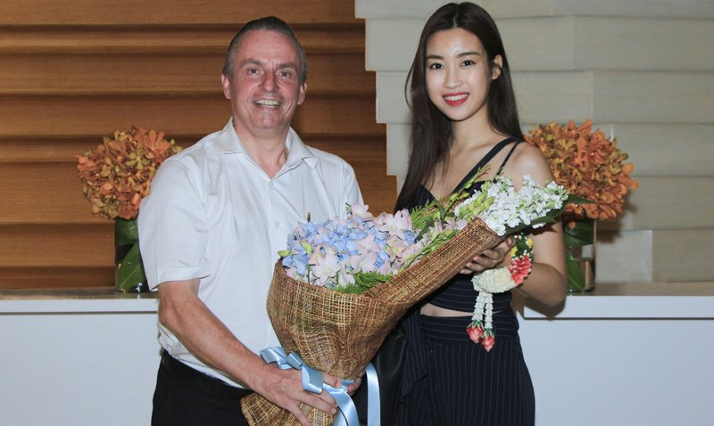 Miss Vietnam visits Amari Phuket