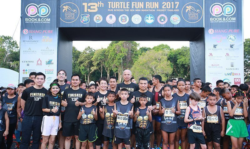 The 13th Mai Khao Marine Turtle Fun Run & Mini Marathon 2017 in Phuket