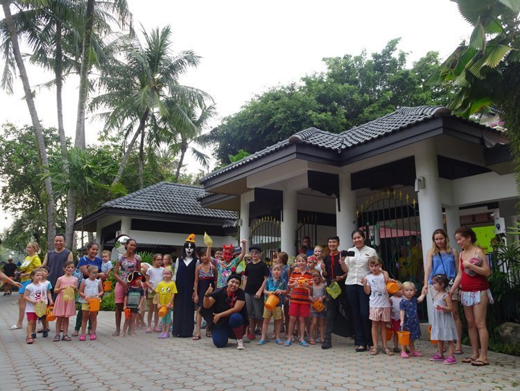 Angsana Laguna Phuket | Kids Halloween at Tree House Kids Club