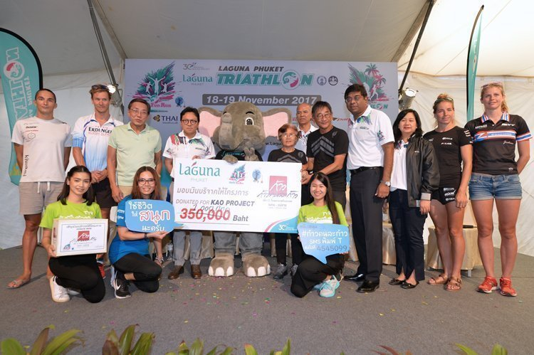 2017 Laguna Phuket Triathlon Kicks into High Gear and towards Good Causes A league of legends to flock Asia's premier destination resort this Sunday Vying for USD 20,000