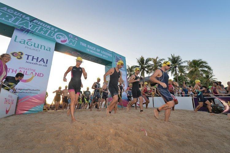 Michael Raeleart of Germany Gets Three-Peat in the Heat at Laguna Phuket Triathlon Winning Three Consecutive Championships under the Phuket Sun