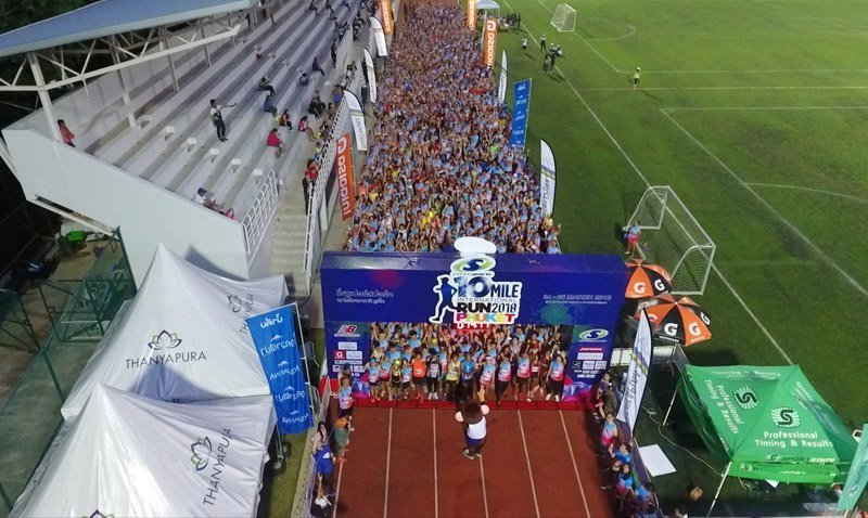 4,000 runners compete at 4th Supersports 10 Mile International Run 2018 Phuket Presented by Thanyapura