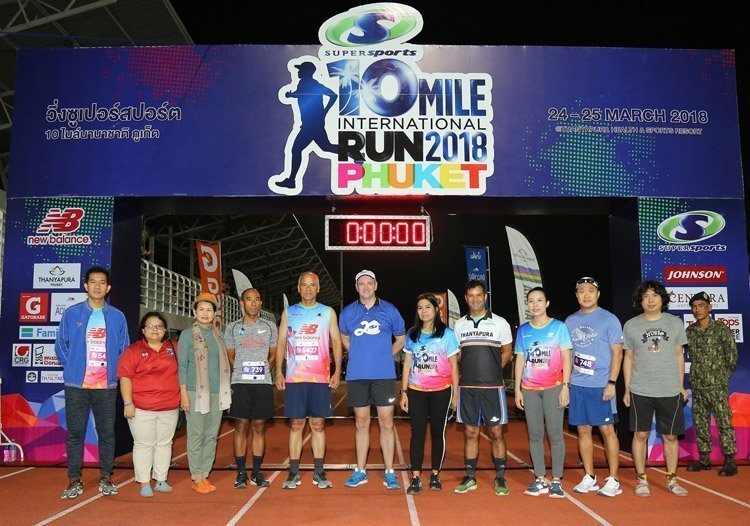 4,000 runners compete at 4th Supersports 10 Mile International Run 2018 Phuket Presented by Thanyapura