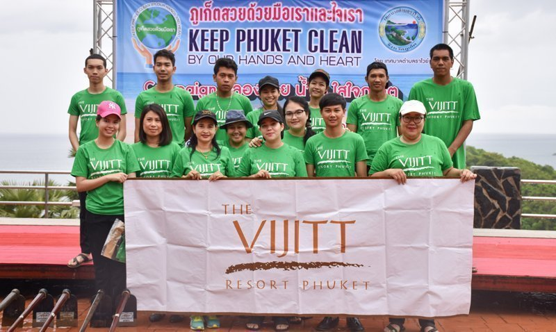Keep Phuket Clean by our hands and heart