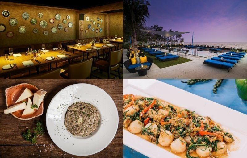 Indulge in the ultimate dining experience in Hua Hin and Koh Samui with Amari