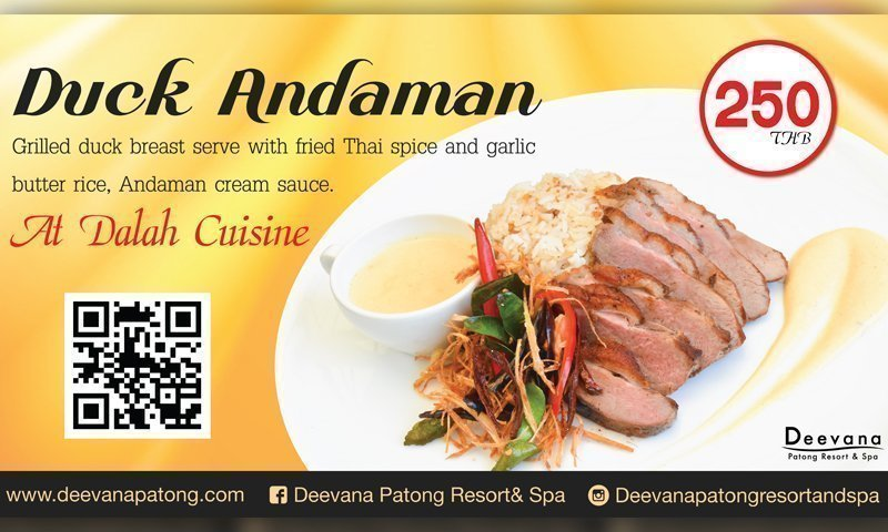 Promotion: Taste of Duck Andaman, Deevana Patong Resort & Spa